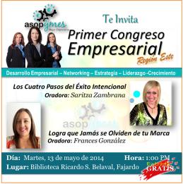 Primer Congreso Empresarial